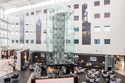 Radisson Blu Stansted Airport Atrium