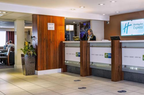 Holiday Inn Express Gatwick Airport reception