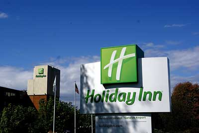 Holiday Inn Gatwick Sign