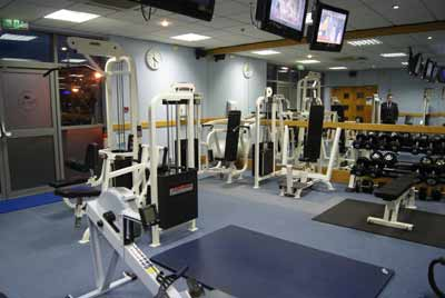 Heathrow Crowne Plaza Gym