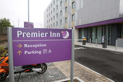 Heathrow Premier Inn T5 Car Park