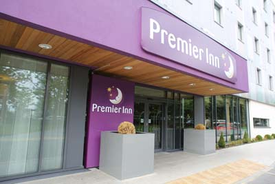 Heathrow Premier Inn T5 Entrance