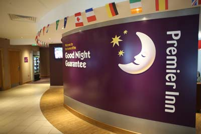 Heathrow Premier Inn T5 good night