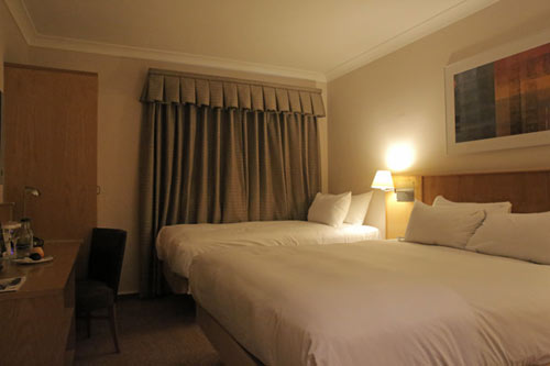 Hilton Stansted Airport room